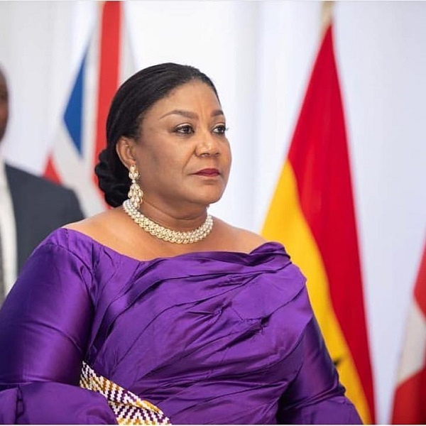 First Lady urges Ashanti Region  to vote massively for NPP