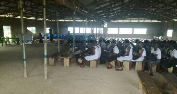 The school does not have adequate furnished classrooms to accommodate first-year students
