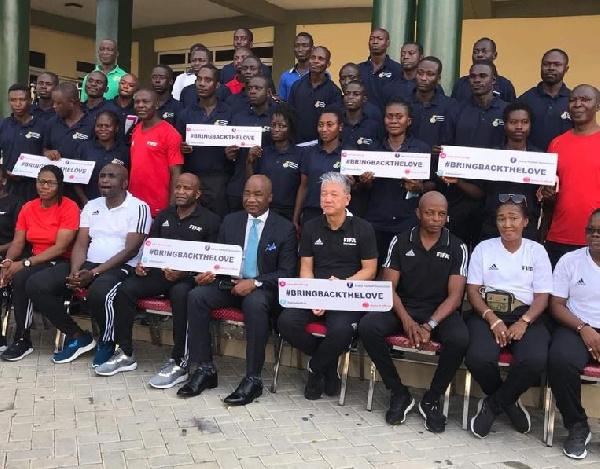 Referees urged to be vigilant in upcoming season