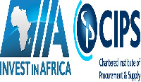 Invest in Africa logo and Chartered Institute of Procurement and Supply logo