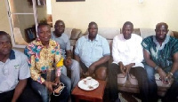 Adam Samba, Bugri Naabu and other party officials
