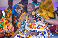Awulea Amihere Kpanyinli III, Paramount Chief of Eastern Nzema Traditional