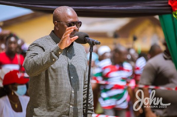 Election 2020: NDC winning four out of six new regions – Mahama