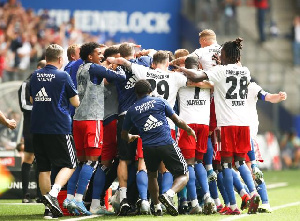 Hamburg SV players