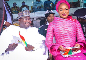 Vice President Dr Mahamudu Bawumia and his wife, Hajia Samira Bawumia