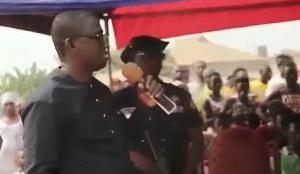 District Chief of Executive of Amansie West, William Asante Bediako