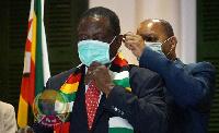 Emmerson Mnangagwa, President of the republic of Zimbabwe
