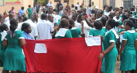 File photo: A group of unemployed nurses protest against government