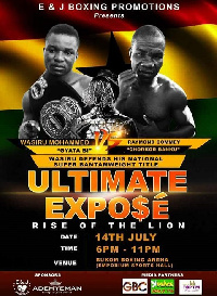 The clash is expected to come off on July 14th at the Bukom Boxing Arena