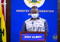 Director-General of the GHS, Dr. Patrick Kuma-Aboagye