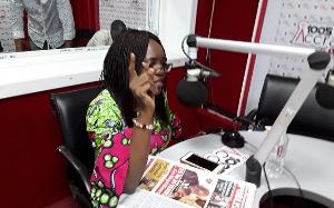 Rita Odoley Sowah, parliamentary aspirant for La Dade-Kotopon Constituency
