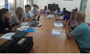 Delft University officials have arrived in Ghana to start the project