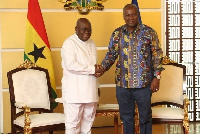 Akufo-Addo and Mahama occupy the 1st and 2nd position on the ballot paper