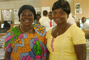 Akua Donkor and Patricia Asante