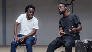 Musicians, Akwaboah and Sarkodie