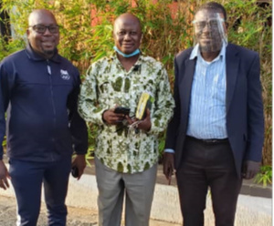 The Three flagbearer hopefuls of the People's National Convention