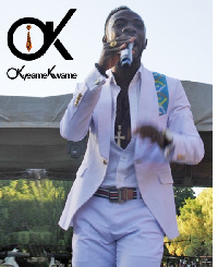 Okyeame Kwame at GhanaFest in South Africa