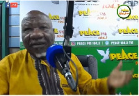 Former Central Regional Chairman of the NDC, Bernard Allotey Jacobs