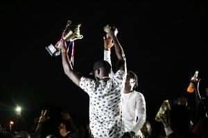 Stonebwoy's Bhim Nation wins Celebrity Soccer Tournament
