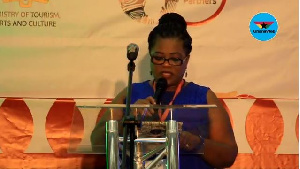 National Director at the Department of Social Welfare, Dr. Comfort Asare