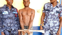 Naa Lawrence butchered his brother Kwame with a cutlass