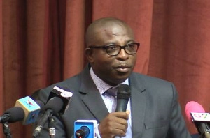 Deputy Health Minister, Alex Kodwo Kom Abban
