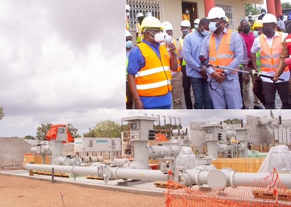 Electricity Projects: Ministers pay working visits to Kasoa, Pokuase BSP sites