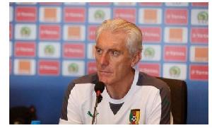 South Africa new coach, Hugo Broos