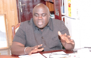 Julius Debrah Chief Of Staff
