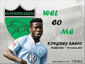 Ghana International Kingsley Sarfo