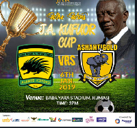 The match is part of the 80th birthday celebrations of John Agyekum Kufuor