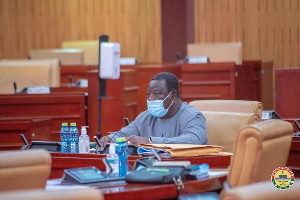 Kwasi Amoako Attah, Minister Designate, Ministry For Roads And Highways Parliament2021