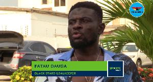 Fatau Dauda, former Black Stars number 1
