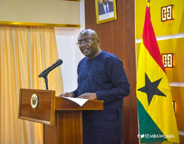 We've arrested the cedi; brought down inflation – Bawumia