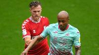 Swansea City forward Andre Ayew