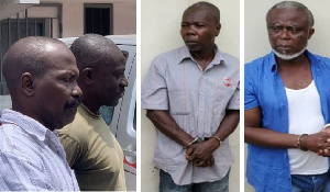 The alleged coup suspects