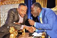 Rev. Isaac Owusu Bempah and Prophet Emmanuel Badu Kobi