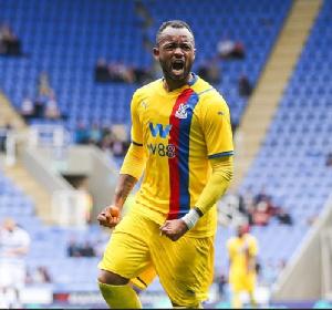 Crystal Palace attacker Jordan Ayew
