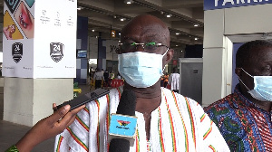 Former Minister of Aviation, Joseph Kofi Adda