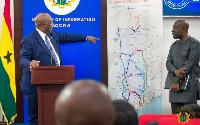Minister for Railway Development, Joe Ghartey