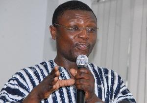 Member of Parliament for Buem Constituency, Kofi Adams