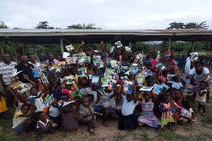 Some beneficiaries of the donation