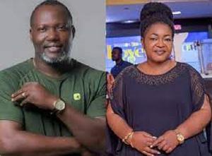The late actor, Bishop Bernard Nyarko and actress Christiana Awuni