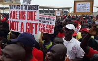 The call comes as workers in Ghana prepare to celebrate May Day