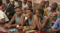 Accra Girls representatives poised for the competition