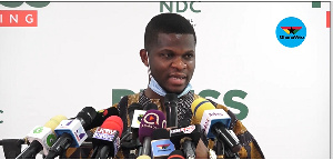 NDC Communications Director, Sammy Gyamfi