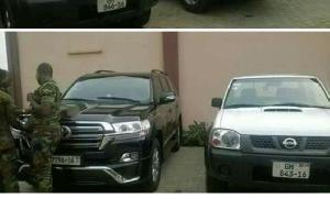 Kofi Adams Car