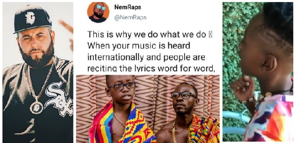 NemRaps message and Okyeame Kwame's son