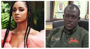 Popular Ghanaian singer, Sister Derby and Ningo-Prampram MP, Sam George