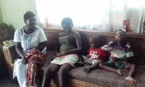 Golda Nunoo Family